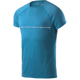 Houdini Fast Track Message T-shirt Homme, hulls blue